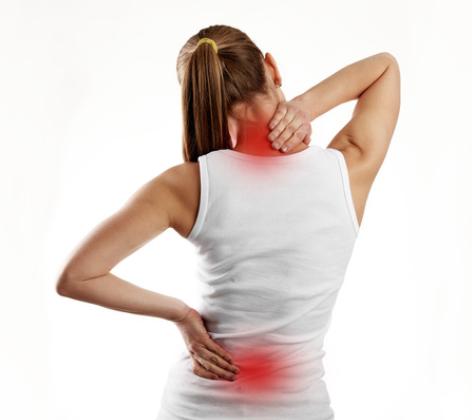 Dolor de espalda con sobrepeso a menudo afecta a las personas